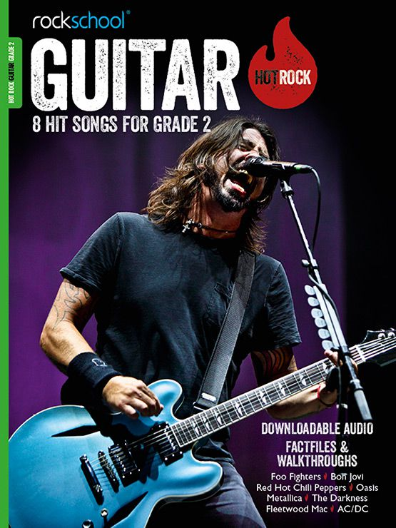 Hot Rock Guitar Grade 2 Book Cover