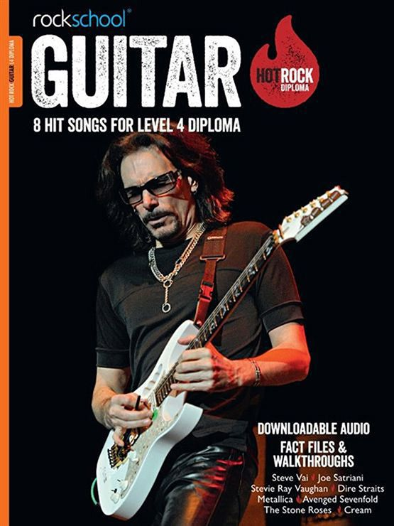 Hot Rock Guitar Level 4 Book Cover