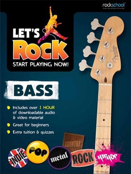 Let's Rock Bass Book Cover
