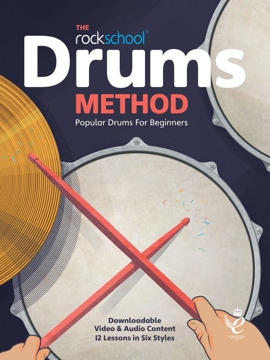 Let's Rock Drums Book Cover