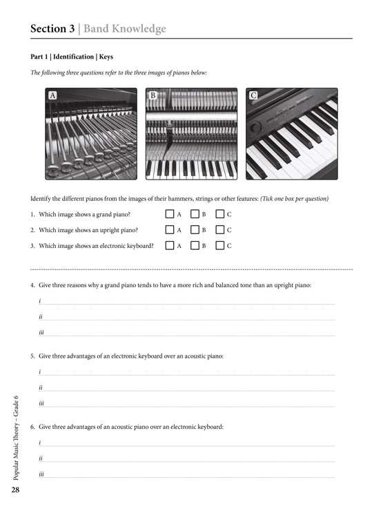 Popular Music Theory Workbook Debut Sample # 3