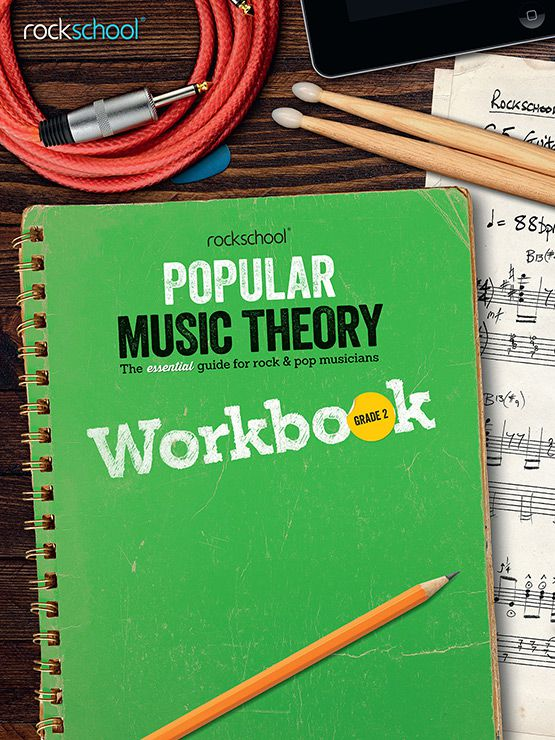 Popular Music Theory Workbook Debut Book Cover