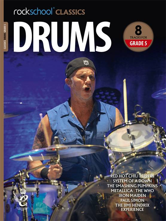 Rockschool Classics Drums Grade 5 Book Cover