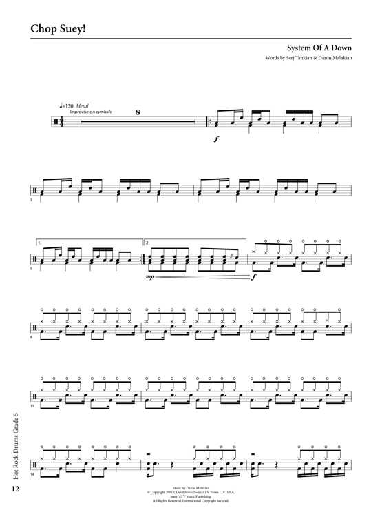 Rockschool Classics Drums Grade 5 Sample # 2