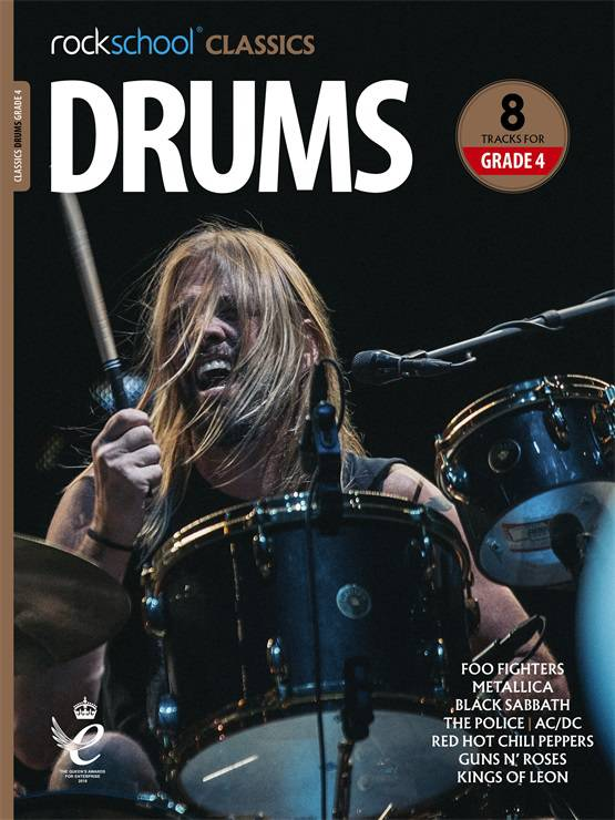 Drums Grade 4 Rockschool Classics Cover