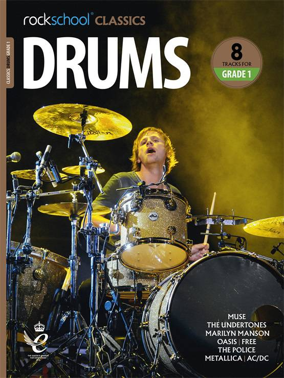 Drums Grade 1 Rockschool Classics Cover