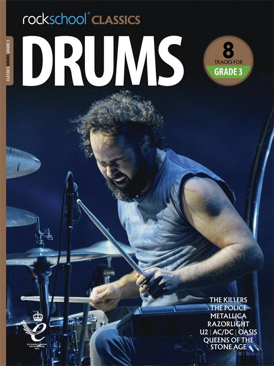 Drums Grade 3 Rockschool Classics Cover
