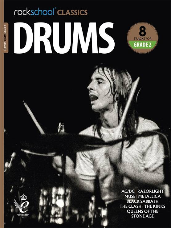 Drums Grade 2 Rockschool Classics Cover