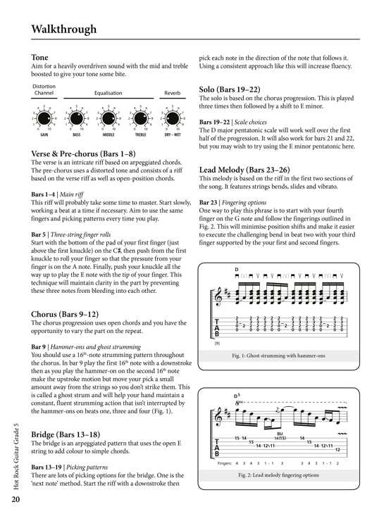 Rockschool Classics Guitar Grade 5 Sample # 3