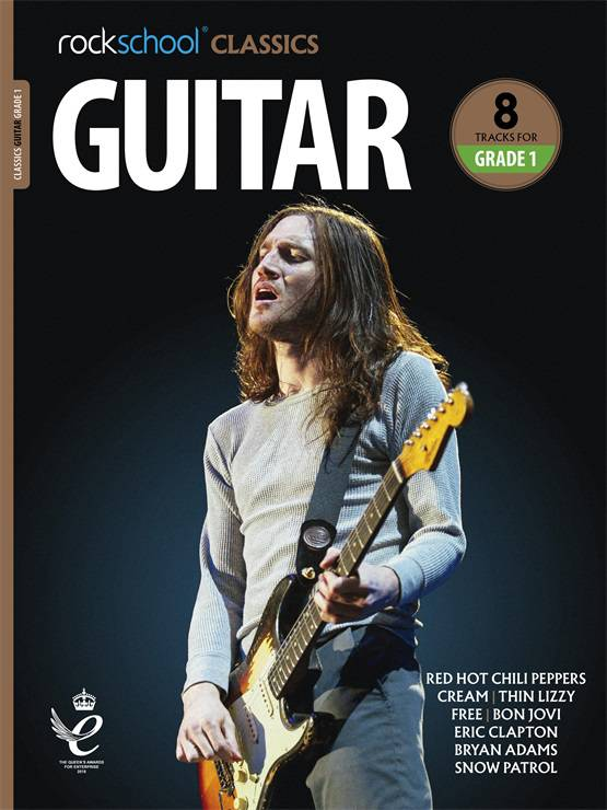 Rockschool Classics Guitar Grade 1 Book Cover