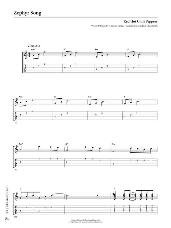 Rockschool Classics Guitar Grade 1 Sample # 2