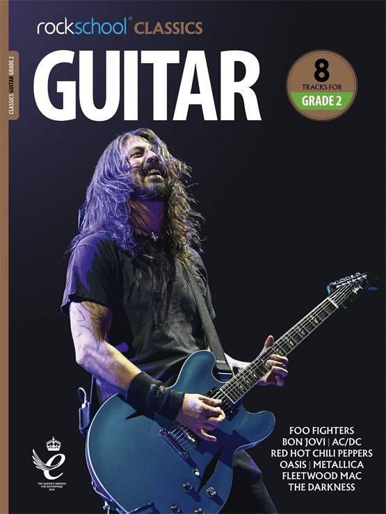 Rockschool Classics Guitar Grade 2 Book Cover