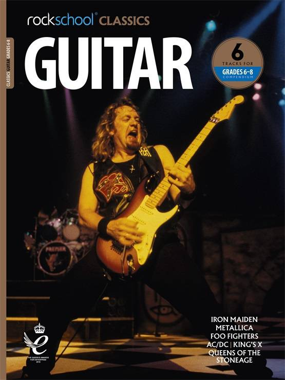 Rockschool Classics Guitar Grades 6-8 Book Cover