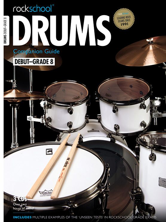 Drums Companion Guide Cover