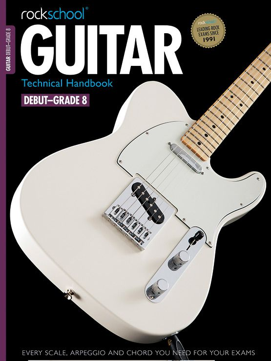 Guitar Technical Handbook Cover